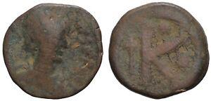 05016] IMPERO BIZANTINO - ANASTASIO 491 518 D.C. - MEZZO FOLLIS