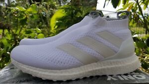 newest 11a01 08f6e Image is loading adidas-ACE-16-Ultra-Boost-Triple-White-Size-