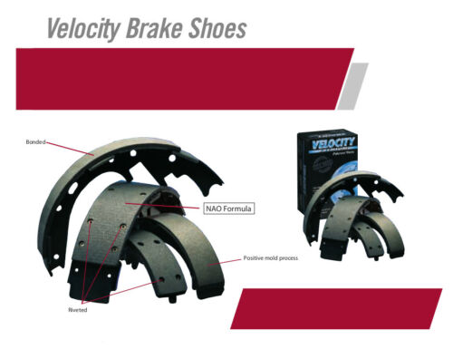 NB636 REAR Bonded Drum Brake Shoe Fits 93-96 Oldsmobile Cutlass Ciera