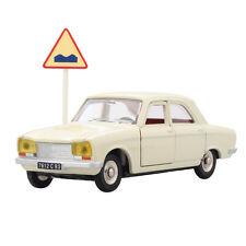 Atlas Dinky Toys 1428 white PEUGEOT 304 1:43 Diecast Car Toys Gift