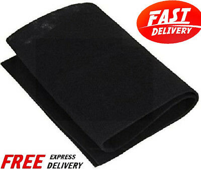 Carbon Pad Air Filter Purifier Odor Remover Charcoal Sheet Cut to Fit Room 2Pack