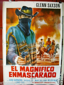 The-Magnificent-Texan-Argentinean-Movie-Poster-60s