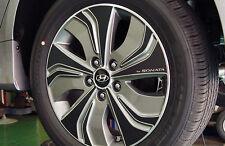 Left Right Carbon Tuning Wheel Sticker 17'' 1Set For 13 Hyundai Sonata Hybrid