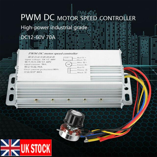 High-Power DC12V 30A Brushless Motor Speed Controller DC 3-phase Regulator PWM