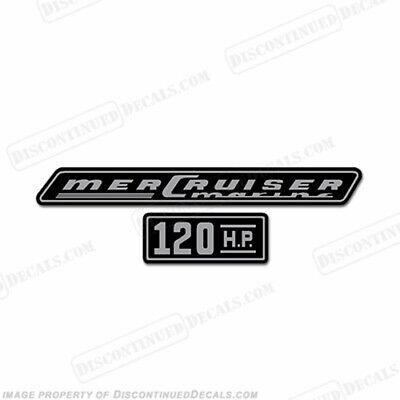 1970 Mercruiser 120hp Decals