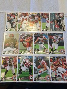 2011-Topps-Falcons-Complete-Team-Set-13-Julio-Jones-Rookie-Rodgers-RC-Ryan