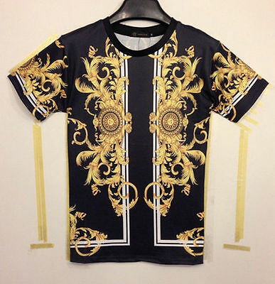 Golden Dragon Pattern 3D Printed T-Shirt Women Men Tee tshirt Hip Hop Clothes