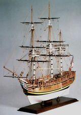 """Elegant, classic Amati model ship kit: the """"HMS Bounty"""""""