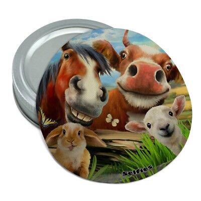 Rabbits Bunnies Hampster Selfie Rubber Non-Slip Jar Gripper Opener