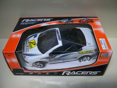 WEIDEY R//C RACERS CONVULSE RACING RADIO CONTROL CAR WITH WORKING HEADLIGHTS