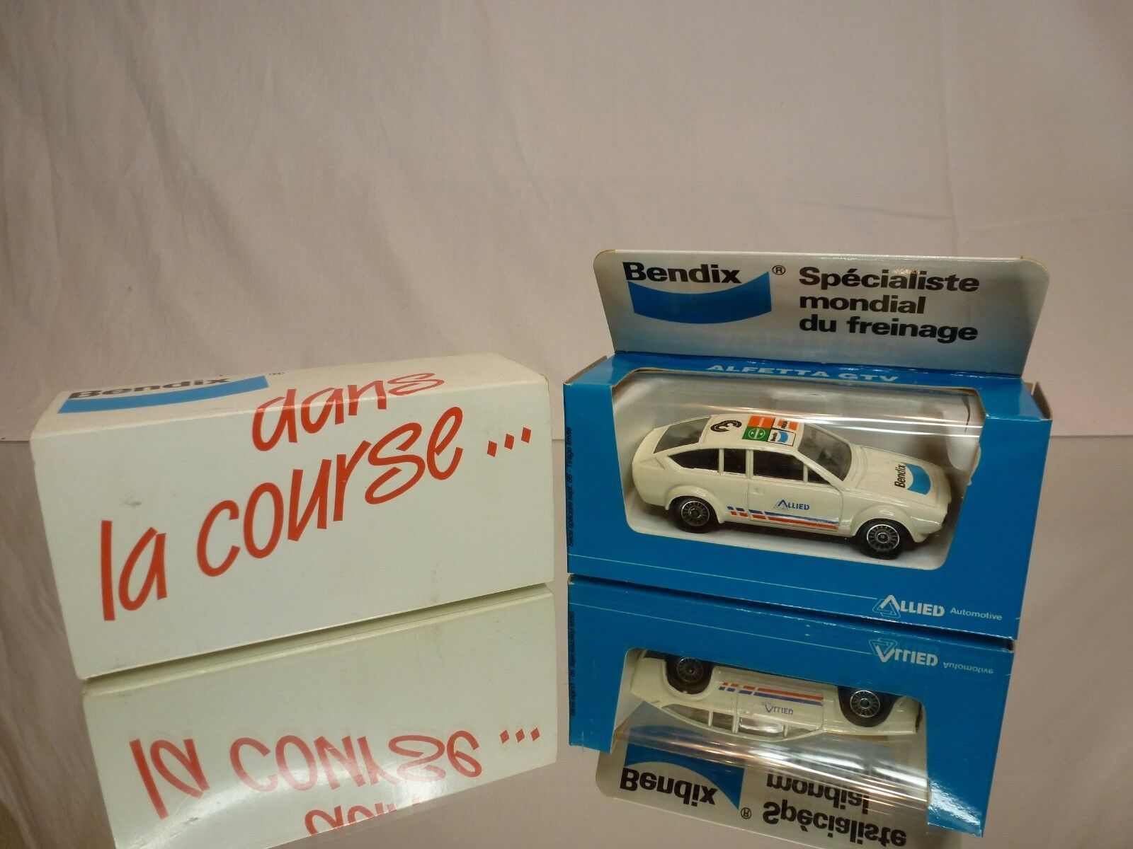 SOLIDO 1305 ALFA ROMEO ALFETTA GTV - ALLIED 1:43 RARE - EXCELLENT IN BENDIX BOX