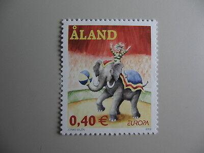Pfrs/mnh/** GroßE Vielfalt Cept-europa Freundlich Z3 Einzellwerte Aland 2002
