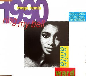 Anita-Ward-Maxi-CD-Ring-My-Bell-1990-Mega-Remix-Germany-EX-G