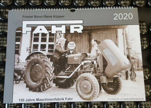 119657 Fahr Schlepper Kalender 2020 Fahr-Landmaschinen-Kalender 2020
