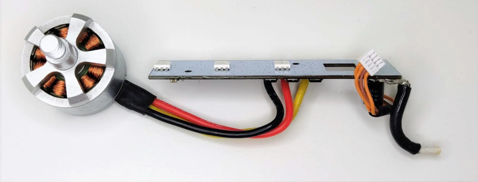 DJI Phantom 2 (Vision Plus) Counter Clockwise CCW Motor + ESC – Silver V1