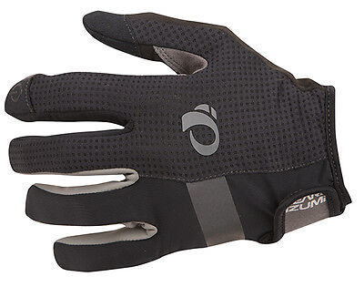 Pearl Izumi Elite Gel Full Finger Women/'s Cycling Gloves 14241603 Black Large