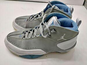 e43afa9c093 Nike Air Jordan Melo M3 Mens Silver Blue Basketball Shoes Size 5Y