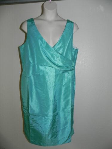 Ashley Stewart Dress Plus Size 16 Womens Seafoam Green NWOT