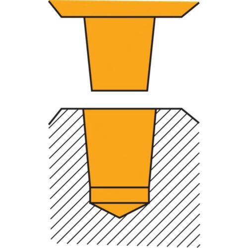 ALBRECHT Bohrfutter NCBF 3-16 mm B 18 mit Spannkraftsich