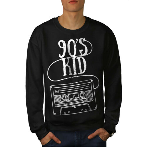 Negro 90's Hombre Sudadera Moda Niños 0q8n1X