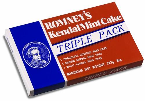 Romneys 227 T KENDAL Comme neuf CAKE Triple Pack 220 g 1 Bar