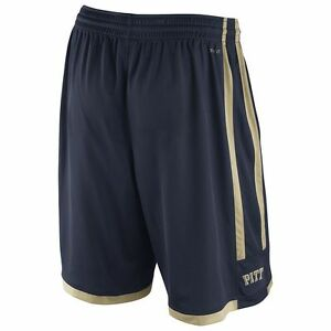 newest 40bc5 01f89 Details about NIKE Pittsburgh PITT Panthers ncaa Basketball Jersey Shorts  ADULT MEN'S (XL)
