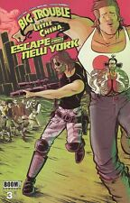Big Trouble Little China Escape New York #3 Comic Book 2017 - Boom