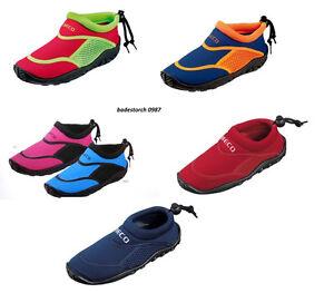 BECO Badeschuhe Weiterer Wassersport Surfschuhe für Kinder rot 23
