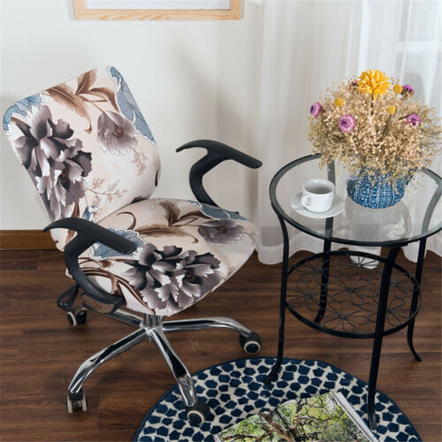 Easy Stretch Rotating Computer Chair Cover Universal Home Office Chair Cover