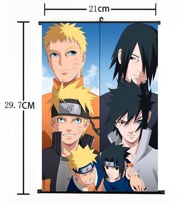 Hot Anime Naruto Wall Poster Scroll Home Decor Cosplay 1242