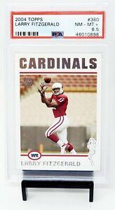2004-Topps-Future-HOF-Cardinal-LARRY-FITZGERALD-Rookie-Football-Card-PSA-8-5