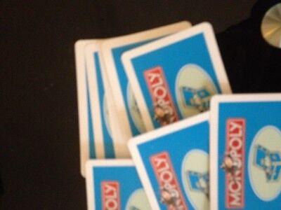 Appena Monopoly Gioco, Set Di Carte Della Comunità Sul Petto. Originale Hasbro Giochi Di Parti.-mostra Il Titolo Originale Squisito Artigianato;