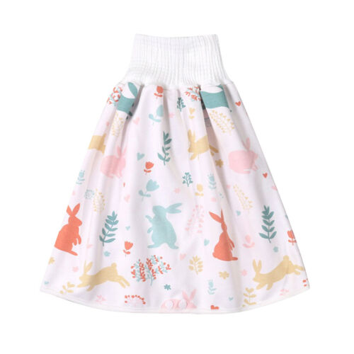 Comfy Childrens Diaper Skirt Shorts Pant  2 in 1 Waterproof /&Absorbent Shorts
