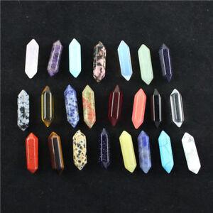 Natural-Gemstones-Hexagonal-Pointed-Reiki-Chakra-Beads-for-Pendant-Necklace-DIY
