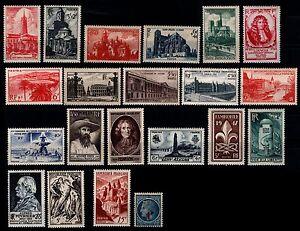 Destockage-L-039-ANNEE-1947-Complete-Neufs-Cote-35-Lot-Timbres-France