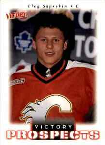 1999-00 Upper Deck Victory Prospects Oleg Saprykin Rookie #356