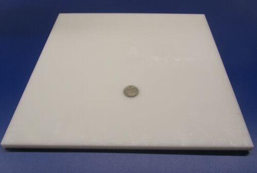 "2 Units Sheet White .375/"" 3//8/"" HDPE x 12/"" x 12/"" Polyethylene"