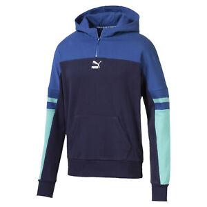 PUMA-PUMA-XTG-Men-039-s-Quarter-Zip-Hoodie-Men-Sweat-Sport-Classics