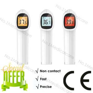 Termometro-infrarossi-LCD-digitale-Misuratore-temperatura-corporea-senza-contatt