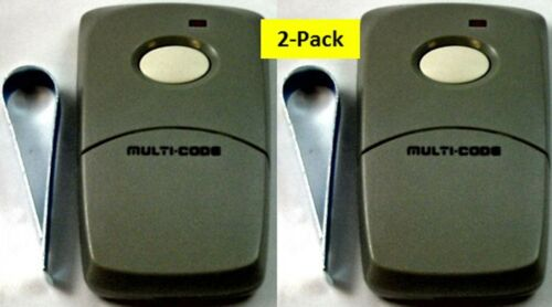 3089 2PACK multi-code multicode 308911 Linear MCS308911  300mhz Garage Remotes