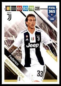 Federico Bernardeschi Juventus 237 No Panini FIFA 365 2019