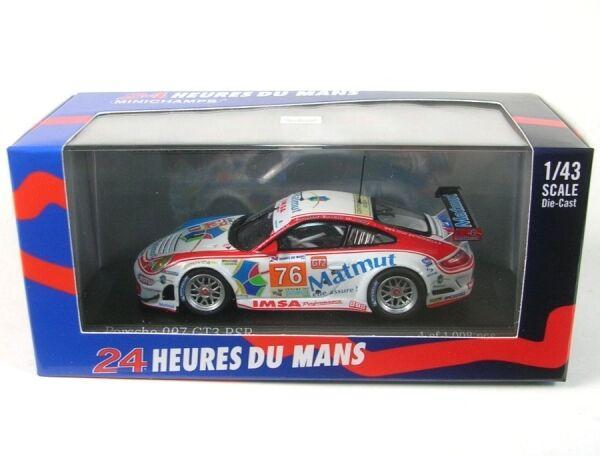 Porsche 997 GT3 RSR IMSA IMSA IMSA Performance Matmut No.76 24h LeMans 2010 (Narac - Pilet cce173