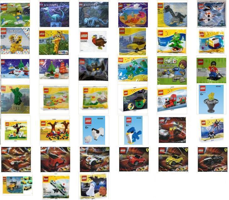 LEGO Speciale Set stagione polyBorsas promotionals esclusivo