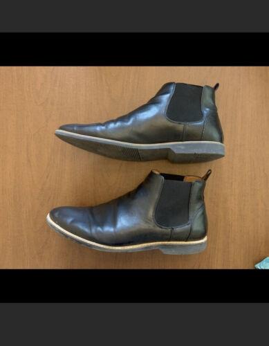 Steve Madden Mens Lester Chelsea Boot Black