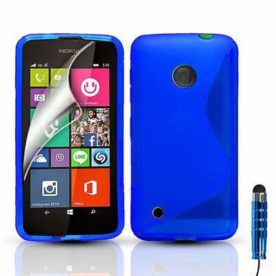 S CURVED GEL CASE For Nokia Lumia 530