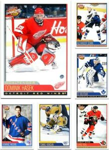IJshockey 2003-04 Pacific Main Attractions Hockey Cards Pick From List