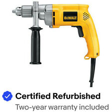 DEWALT 1/2 in. 0 - 850 RPM 7.8 Amp VSR Drill DW235G Certified Refurbished