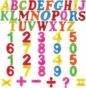 Magnetisch-Buchstaben-Zahlen-Alphabet-Kuehlschrank-Magnete-Kinder-Learning-Toy