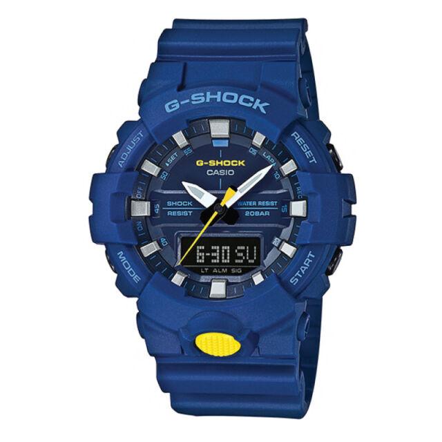 Casio G-Shock GA-800 Analog-Digital Watch GA800SC-2A AU FAST & FREE