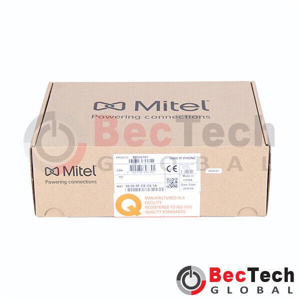 Mitel MiVoice 6920 VoIP Phone P/N: 50006767